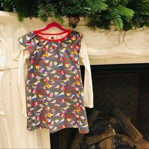 Girls Tea dress Thunderbird collection